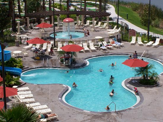 Smaller Pool Area At Our Building Picture Of Wyndham