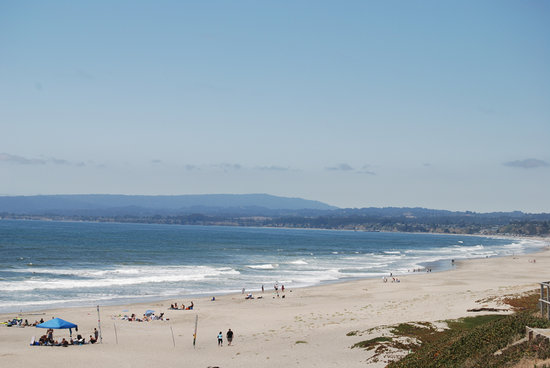 Manresa State Beach: Looking East from the Parking Lot