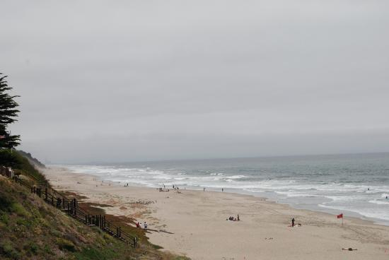 Manresa State Beach: Looking West from the Parking Lot