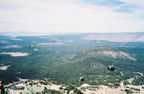 Mammoth Mountain Inn : View from Gondola Top