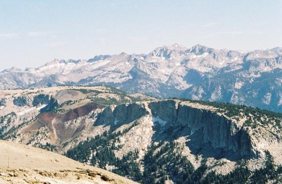 Mammoth Mountain Inn : It's a great hike to the top and take Gondola down