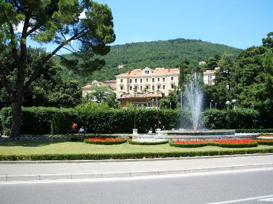 Hotel Opatija from the promenade.