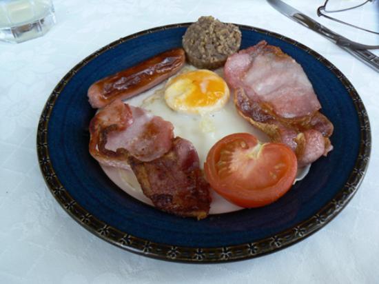 Irish breakfast, Carriglea House, Killarney
