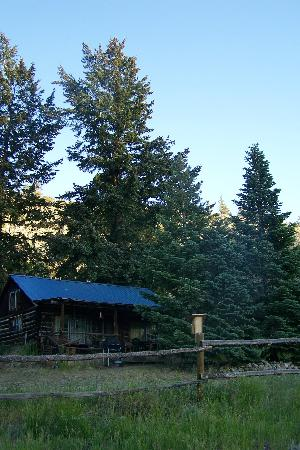 Sagewood Cabins: Cabin at 6:00 am