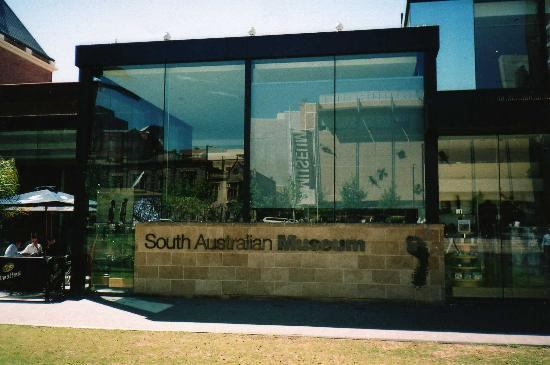 Adelaide, Australia: Front of the South Australian Museum