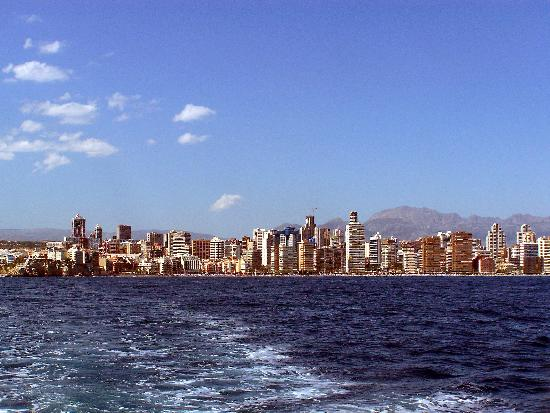 Isla de Benidorm (L'illa de Benidorm): ON OUR WAY TO PEACOCK ISLAND
