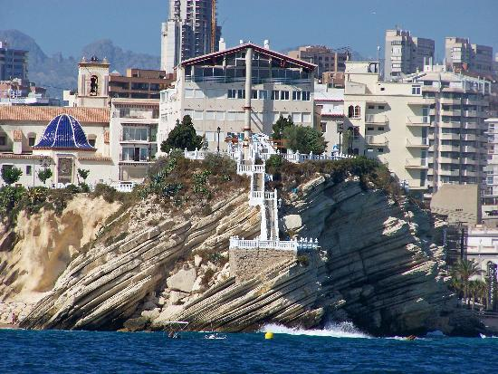 Isla de Benidorm (L'illa de Benidorm): NEARLY BACK ON DRY LAND