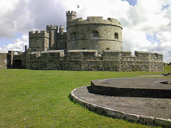 ‪‪Falmouth‬, UK: Pendennis castle 090707‬