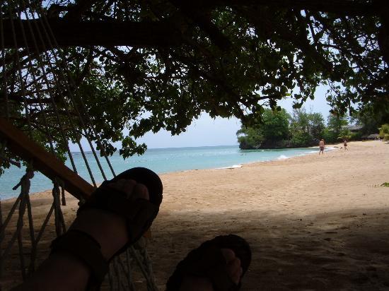 Jamaica Inn : tom's feet in the hammock