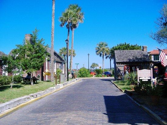 Saint Augustine, فلوريدا: Cuna Street, St Augustine, Florida