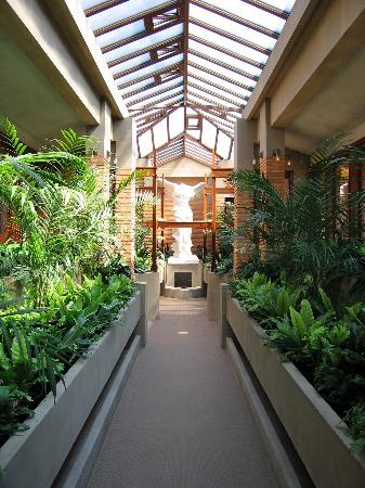Frank Lloyd Wright's Darwin D. Martin House Complex: The Conservatory of the Darwin Martin House