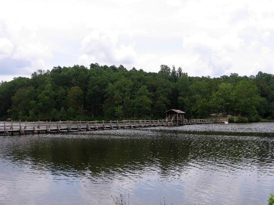 Henderson, TN: Lake and bridge view