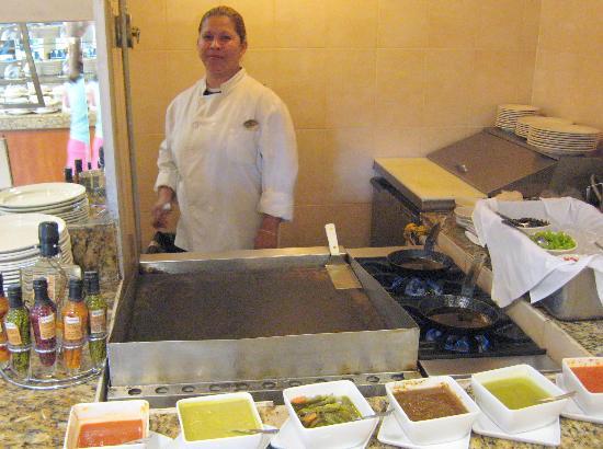 Fiesta Inn Nogales : eggs made to order