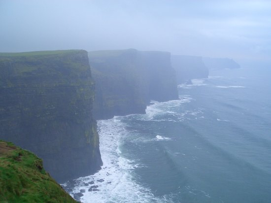 västra Irland, Irland: Cliffs of Moher