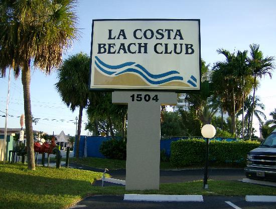 La Costa Beach Club Resort Entrance