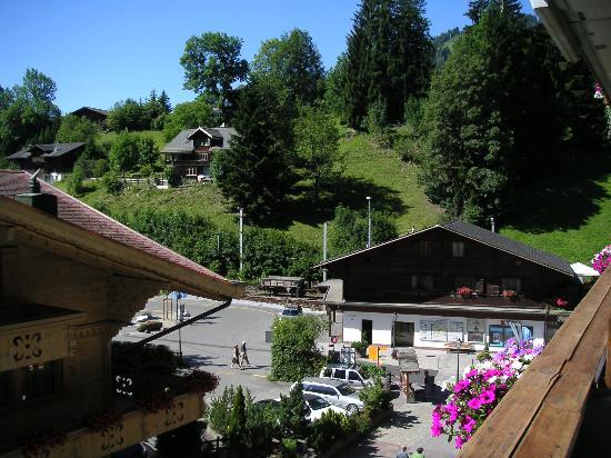 Hotel Bernerhof Gstaad: Hotel Bernerhof - Suite 323 view