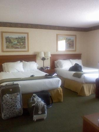 Holiday Inn Express Hotel & Suites Pittsburgh Airport: Double Queen