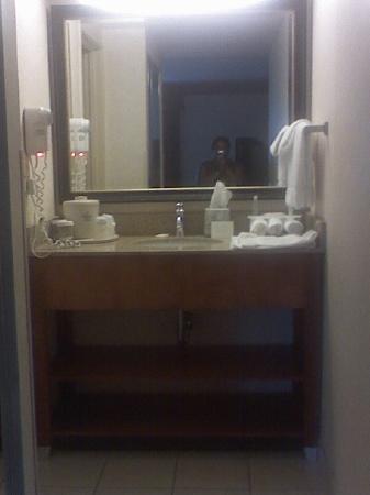 هوليداي إن إكسبريس هوتل آند سويتس: Vanity/Sink