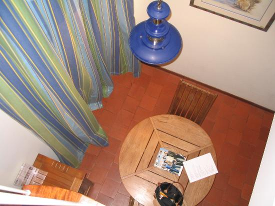 Hotel Residence du Centre Nautique : View from above