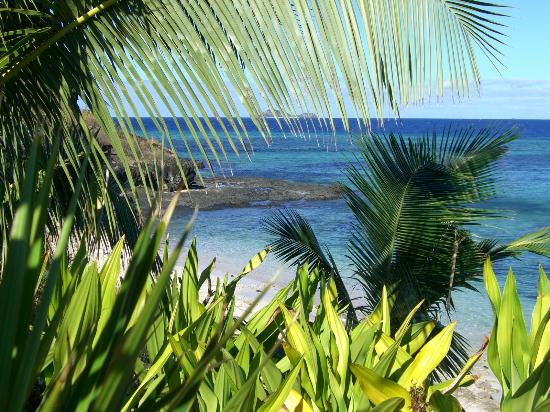 Tokoriki Island Resort: View SPV 5 Low tide