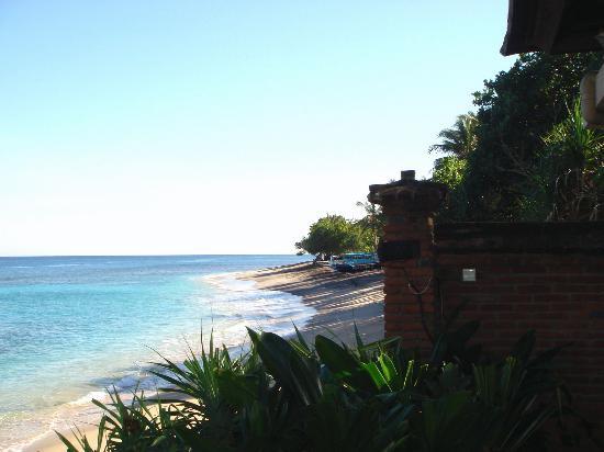 Qunci Villas Hotel: View from hotel restaurant
