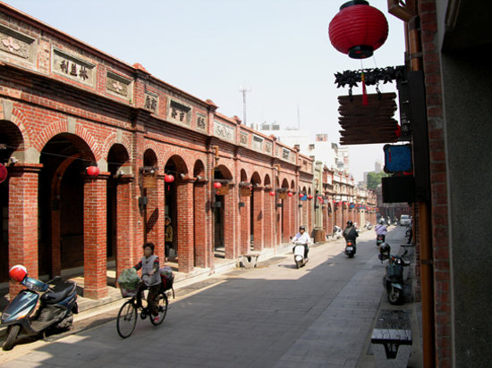 Sanhsia Old Street near Tzu-shih Temple, Taipei County