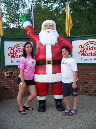 Santa Claus, IN: Santa!