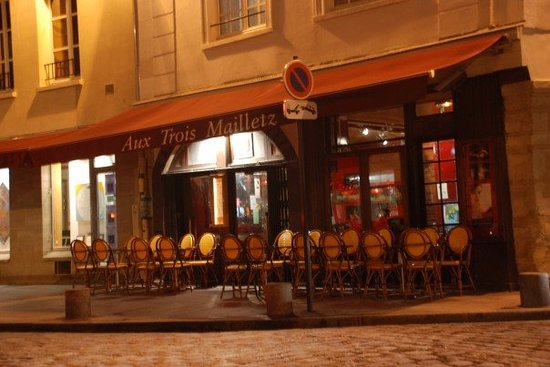 Aux Trois Mailletz爵士酒吧