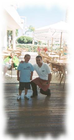 Alto da Colina Aparthotel: Jose-the best waiter and nice guy 2007