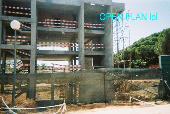 Alto da Colina Aparthotel: Open plan