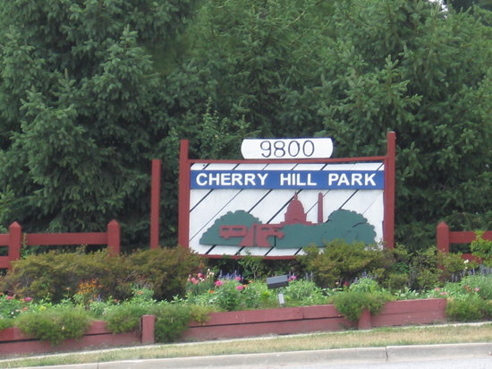 Cherry Hill Park: Entrance