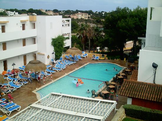 Aparthotel Ferrera Blanca: View from balcony