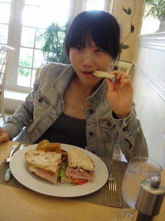 Fountain Cafe: club sandwich