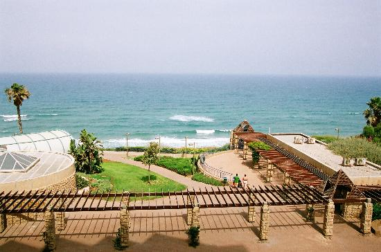 Netanya, Israel: View from our room