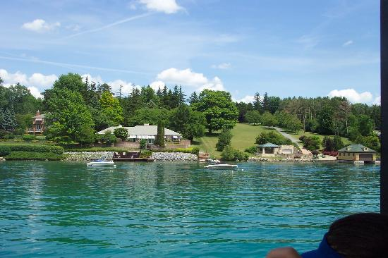 Skaneateles Suites: View from the boat