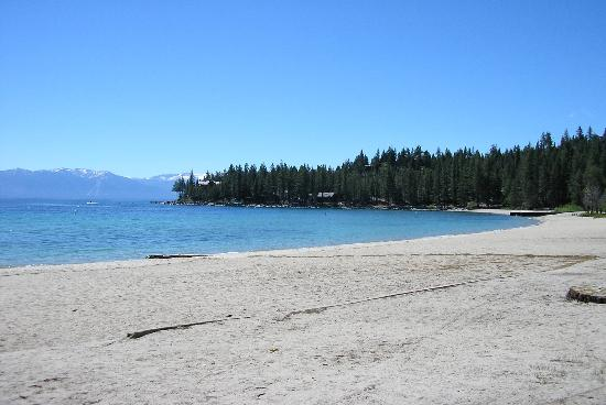 Tahoma, Kaliforniya: Beach at Meek's Bay