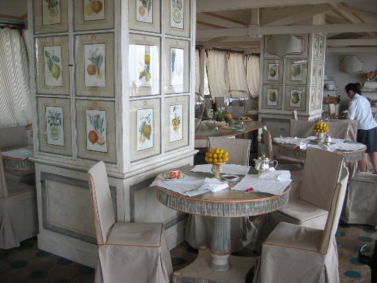 Hotel Villa Carlotta: Breakfast - restaurant