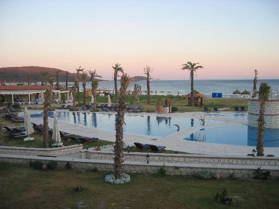 Alacati, Turkey: THIS is the view from the balcony... as I said - spectacular
