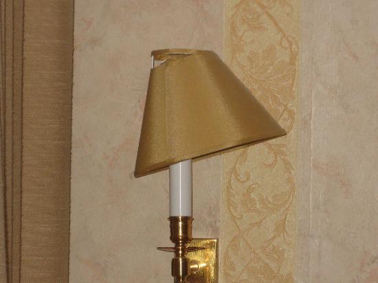 Hotel de la Felicite: lampshade