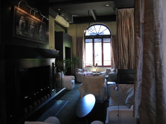 Hotel Le Germain Quebec : The lounge area