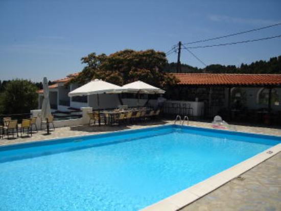 Villa Apollon Skiathos: Pool