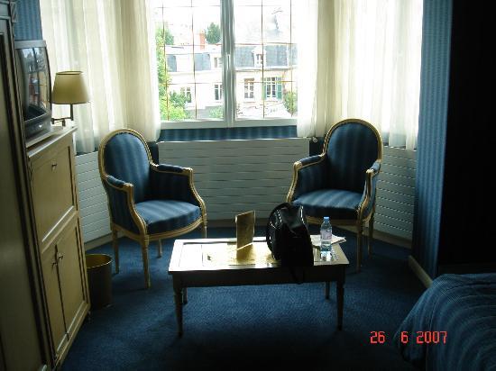 Grand Hotel des Templiers: Apto deluxe