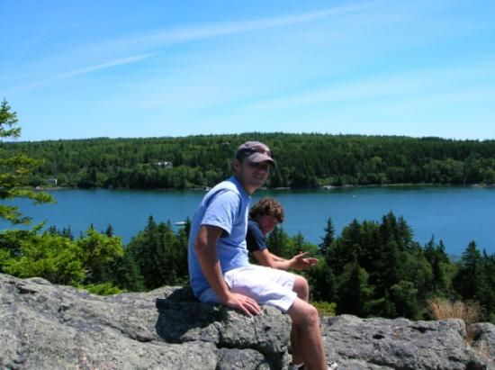 Vinalhaven, ME: A view from Tip Toe Mountain