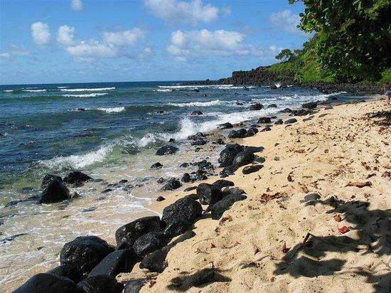 Marc at Princeville Pali Ke Kua : Hideaways Beach Below Pali Ke Kua