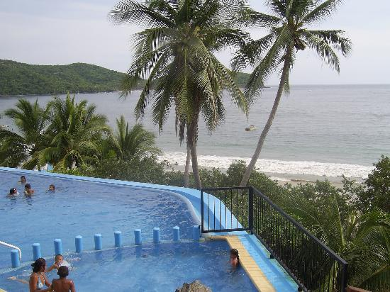 Catalina Beach Resort: infinty pool