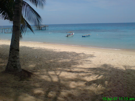 Pulau Tioman, Malasia: view of the beach