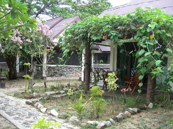 Paradise Resort Phi Phi: Nice garden