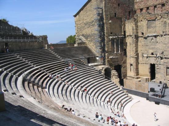 Orange, France: Una altra foto del teatro