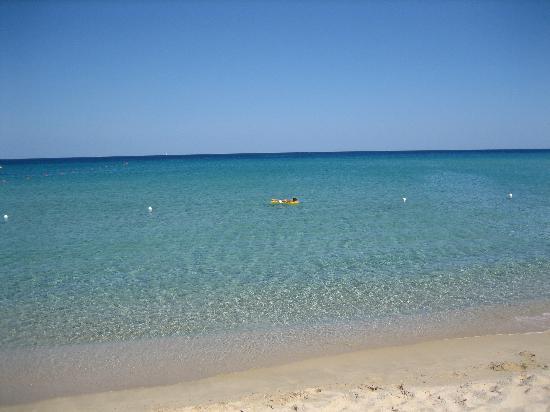 Garden Beach Hotel & Resort : Mare e spiaggia privata Hotel