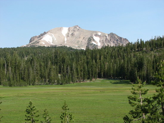 Parc national de Lassen Volcanic, Californie : Mt. Lassen
